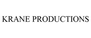 mark for KRANE PRODUCTIONS, trademark #78665835