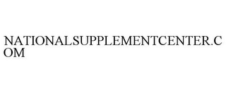 mark for NATIONALSUPPLEMENTCENTER.COM, trademark #78665962