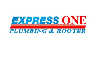 mark for EXPRESS ONE PLUMBING & ROOTER, trademark #78667050