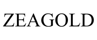 mark for ZEAGOLD, trademark #78667318