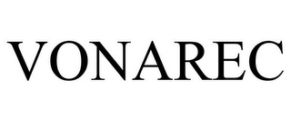 mark for VONAREC, trademark #78667644