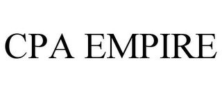 mark for CPA EMPIRE, trademark #78667787