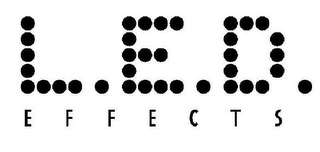 mark for L.E.D. EFFECTS, trademark #78668085