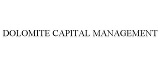 mark for DOLOMITE CAPITAL MANAGEMENT, trademark #78668093