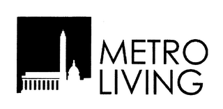 mark for METRO LIVING, trademark #78668494