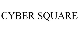 mark for CYBER SQUARE, trademark #78669226