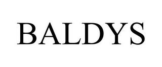 mark for BALDYS, trademark #78669573