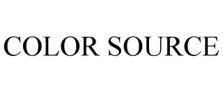 mark for COLOR SOURCE, trademark #78669689