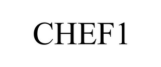 mark for CHEF1, trademark #78670409