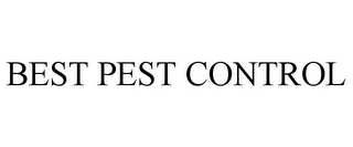 mark for BEST PEST CONTROL, trademark #78670641