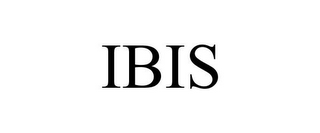 mark for IBIS, trademark #78670870