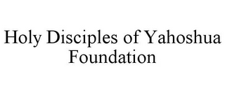 mark for HOLY DISCIPLES OF YAHOSHUA FOUNDATION, trademark #78671843