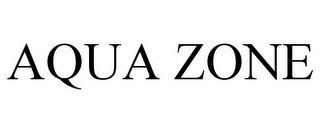 mark for AQUA ZONE, trademark #78672103