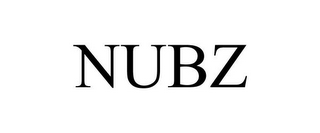mark for NUBZ, trademark #78672660
