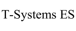 mark for T-SYSTEMS ES, trademark #78672703
