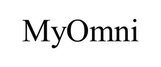 mark for MYOMNI, trademark #78672989