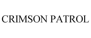 mark for CRIMSON PATROL, trademark #78673013