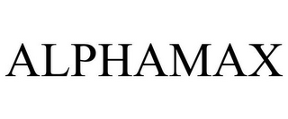 mark for ALPHAMAX, trademark #78673058