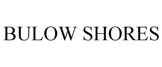 mark for BULOW SHORES, trademark #78673443