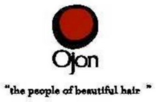 "mark for OJON ""THE PEOPLE OF BEAUTIFUL HAIR"", trademark #78674556"