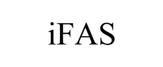 mark for IFAS, trademark #78674739