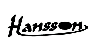 mark for HANSSON, trademark #78674926
