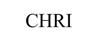 mark for CHRI, trademark #78676236