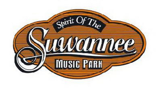 mark for SPIRIT OF THE SUWANNEE MUSIC PARK, trademark #78676884