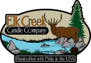 mark for ELK CREEK CANDLE COMPANY HANDCRAFTED WITH PRIDE IN THE USA, trademark #78676912