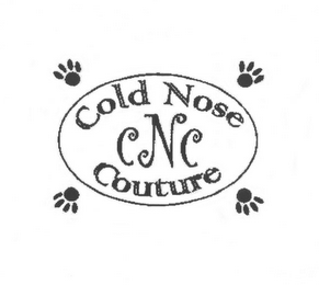 mark for COLD NOSE COUTURE CNC, trademark #78677359