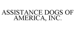 mark for ASSISTANCE DOGS OF AMERICA, INC., trademark #78678951