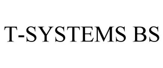 mark for T-SYSTEMS BS, trademark #78679238