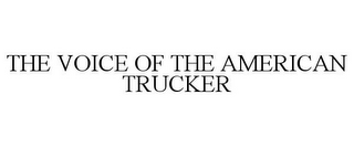 mark for THE VOICE OF THE AMERICAN TRUCKER, trademark #78679367