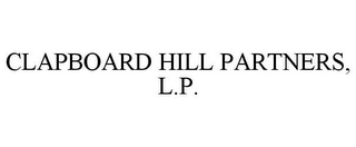mark for CLAPBOARD HILL PARTNERS, L.P., trademark #78682887