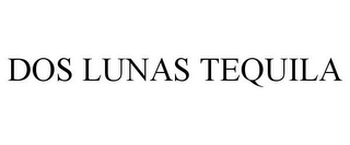 mark for DOS LUNAS TEQUILA, trademark #78683756