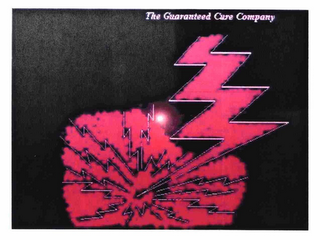 mark for THE GUARANTEED CURE COMPANY, trademark #78684076