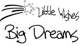 mark for LITTLE WISHES BIG DREAMS, trademark #78684167