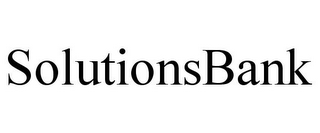 mark for SOLUTIONSBANK, trademark #78685481