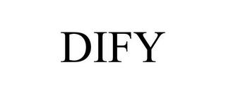 mark for DIFY, trademark #78686406