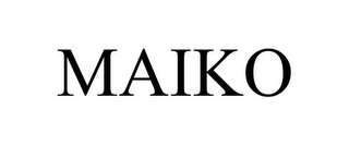 mark for MAIKO, trademark #78686421
