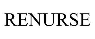 mark for RENURSE, trademark #78687439