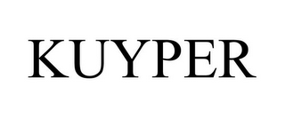 mark for KUYPER, trademark #78687456