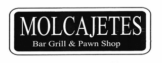mark for MOLCAJETES BAR GRILL & PAWN SHOP, trademark #78688590