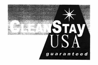 mark for CLEANSTAY USA GUARANTEED, trademark #78689659