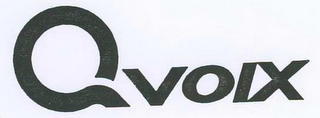 mark for QVOIX, trademark #78690024