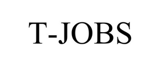 mark for T-JOBS, trademark #78690470