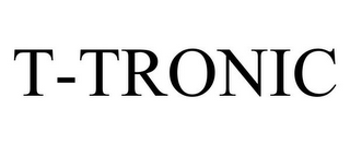 mark for T-TRONIC, trademark #78690689