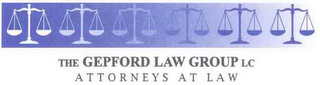 mark for THE GEPFORD LAW GROUP LC ATTORNEYS AT LAW, trademark #78690869