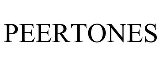 mark for PEERTONES, trademark #78691527