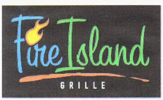 mark for FIRE ISLAND GRILLE, trademark #78692416